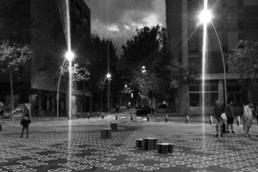 Primer ensayo para una supermanzana (Barcelona). Fotografía de Roser Esterlich